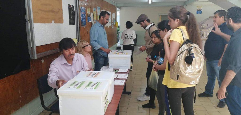 Votación sin privacidad en la Escuela de Música de la UAS